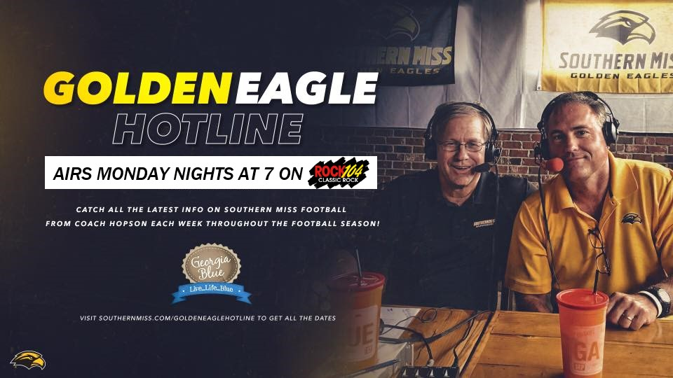 Golden Eagle Hotline airs at 7 pm Monday nights on Rock104