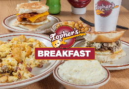 Win Topher's Breakfast with the Rock104 Morning Crew!